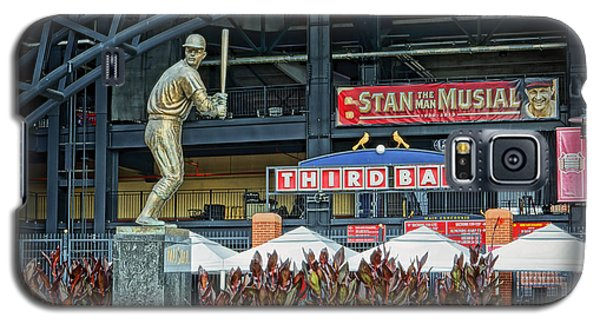 Stan Musial Statue At Busch Stadium St Louis Mo Galaxy S5 Case