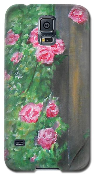 Galaxy S5 Case featuring the painting Stand By Me by Jane  See