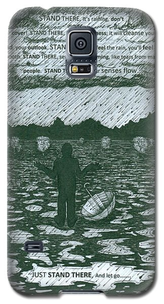 Stand There Galaxy S5 Case