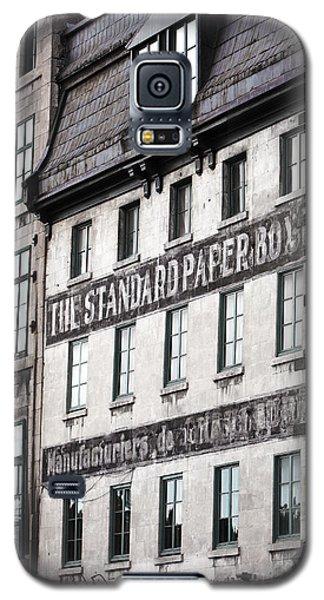 Standard Paper Galaxy S5 Case