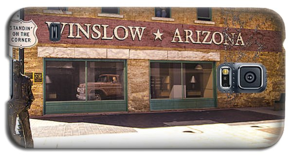 Standin On The Corner In Winslow Arizona Galaxy S5 Case