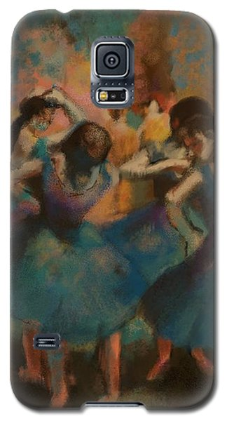 Standing Ballerinas Galaxy S5 Case
