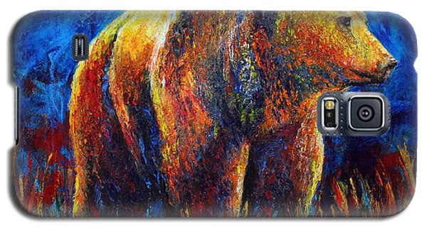 Galaxy S5 Case featuring the painting Standing Ground by Jennifer Godshalk