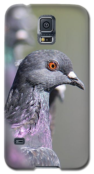 Galaxy S5 Case featuring the photograph Standing Out In A Crowd by Bob and Jan Shriner