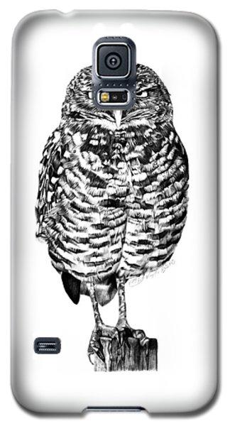 041 - Owl With Attitude Galaxy S5 Case