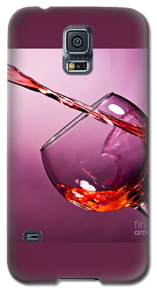 Wine Galaxy S5 Case - Standing Water by Matthew Trudeau