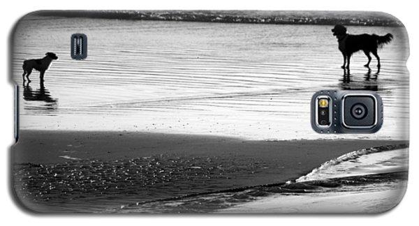 Standoff At The Beach Galaxy S5 Case