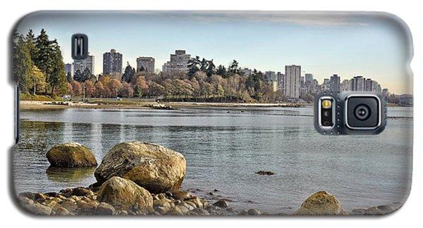 Stanley Park Beach Galaxy S5 Case by Allen Carroll
