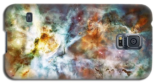 Star Birth In The Carina Nebula  Galaxy S5 Case by Jennifer Rondinelli Reilly - Fine Art Photography