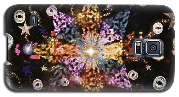 Star Burst Galaxy S5 Case