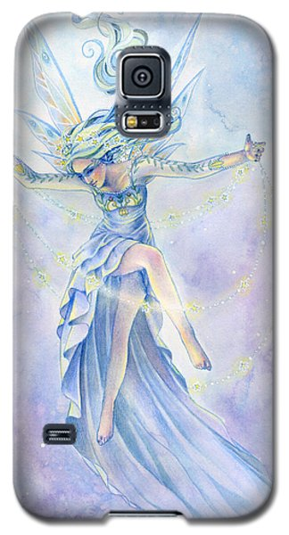 Fairy Galaxy S5 Case - Star Dancer by Sara Burrier