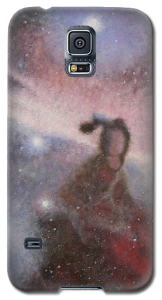 Galaxy S5 Case featuring the painting Star Lady by Min Zou