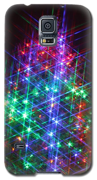Galaxy S5 Case featuring the photograph Star Like Christmas Lights by Patrice Zinck