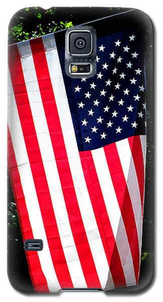 Galaxy S5 Case featuring the photograph Star Spangled Banner by Greg Simmons