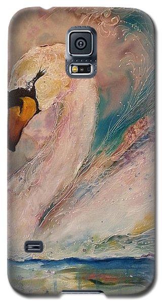 Star Swan  Galaxy S5 Case