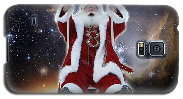 Santa's Star Swing Galaxy S5 Case