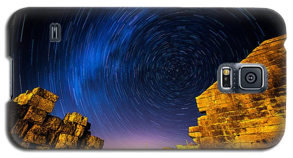 Star Trails At Aizanoi-2 Galaxy S5 Case