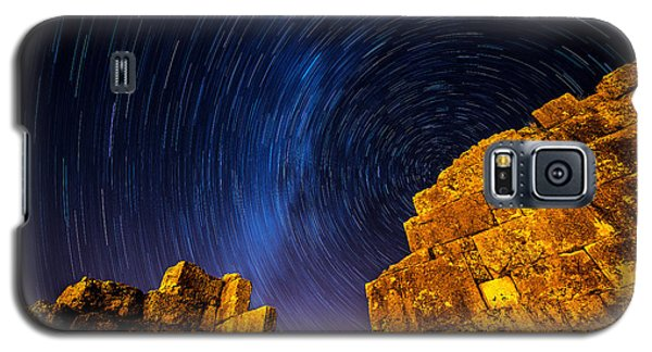Star Trails At Aizanoi Galaxy S5 Case