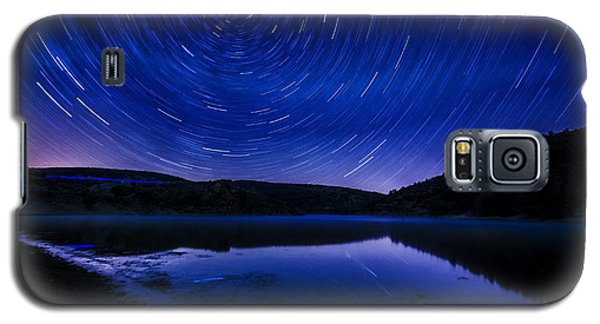 Star Trails Galaxy S5 Case