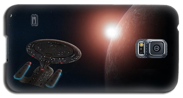 Star Trek Galaxy S5 Case by Ian Merton