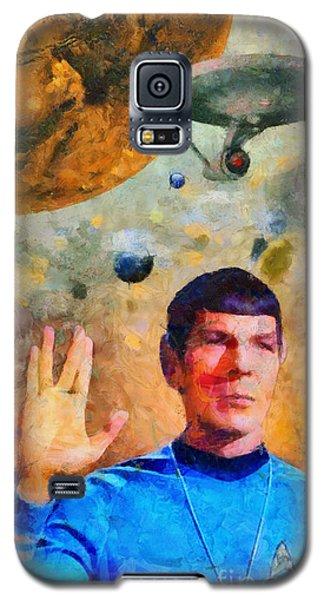 Star Trek-leonard Nimoy Galaxy S5 Case