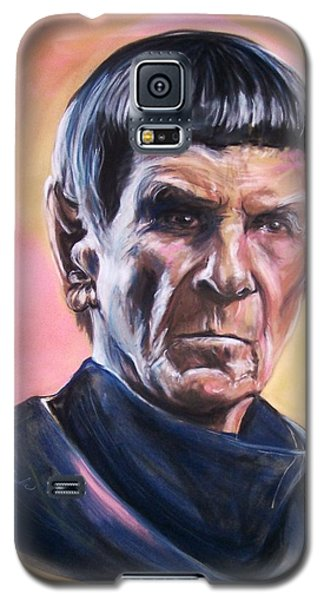 Star Trek Old Spock  Galaxy S5 Case