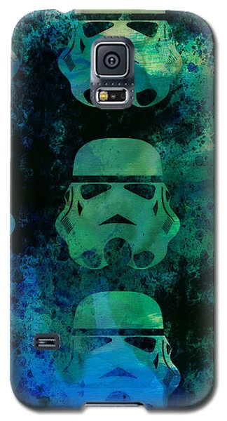 Star Wars Galaxy S5 Case - Star Warriors Watercolor 1 by Naxart Studio