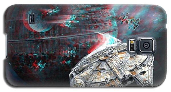 Star Wars 3d Millennium Falcon Galaxy S5 Case