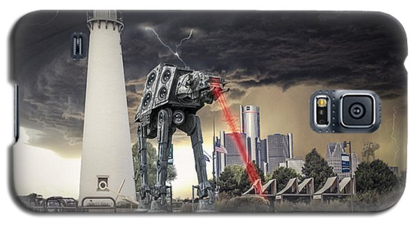 Galaxy S5 Case featuring the photograph Star Wars All Terrain Armored Transport by Nicholas  Grunas