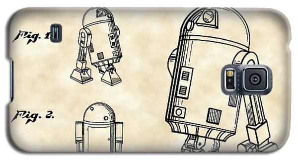 R2-d2 Galaxy S5 Case - Star Wars R2-d2 Patent 1979 - Vintage by Stephen Younts