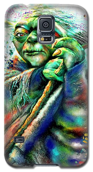 Star Wars Yoda Galaxy S5 Case by Daniel Janda