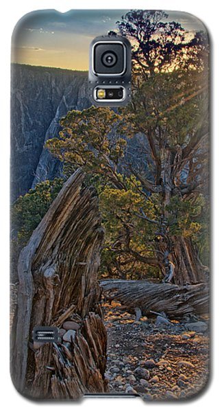 Starburst At Painted Wall Galaxy S5 Case