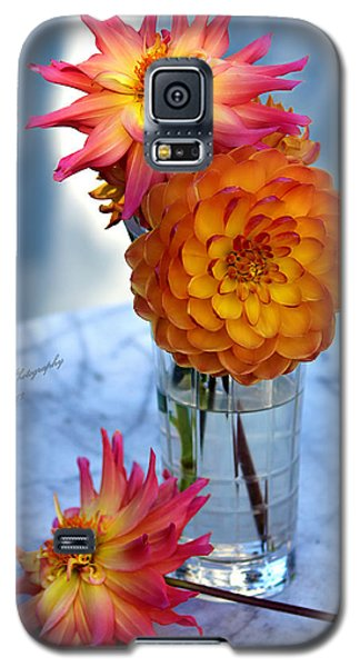 Galaxy S5 Case featuring the photograph Starfire by Jeanette C Landstrom
