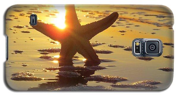 Starfish And Bubbles Galaxy S5 Case