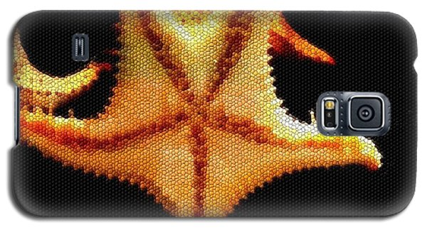 Galaxy S5 Case featuring the photograph Starfish In Mosaic by Janette Boyd