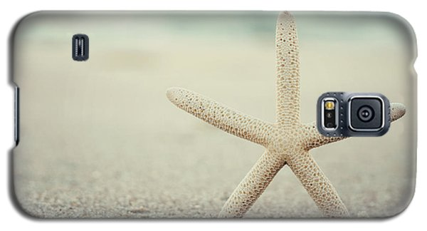 Starfish On Beach Vintage Seaside New Jersey  Galaxy S5 Case