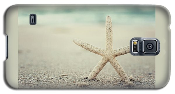Starfish On Beach Vintage Seaside New Jersey  Galaxy S5 Case