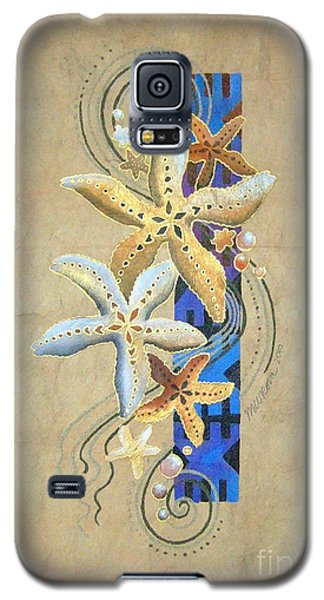 Starfish On Blue Masi Galaxy S5 Case