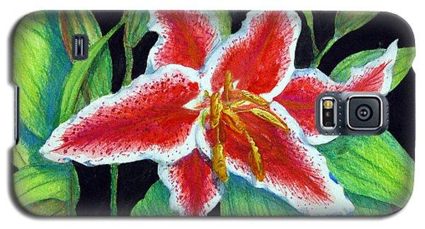 Stargazer Lily Galaxy S5 Case
