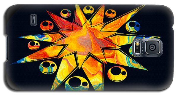 Staring Into Eternity Abstract Stars And Circles Galaxy S5 Case