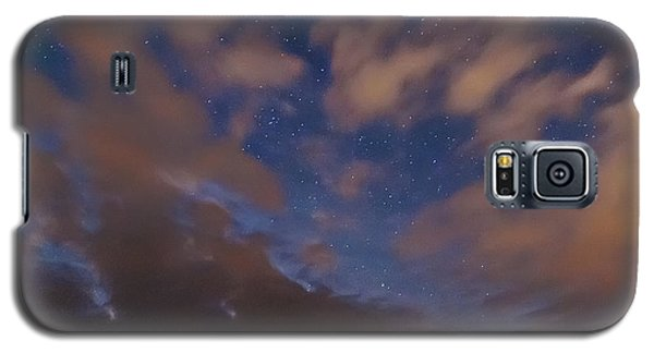 Galaxy S5 Case featuring the photograph Starlight Skyscape by Marty Saccone