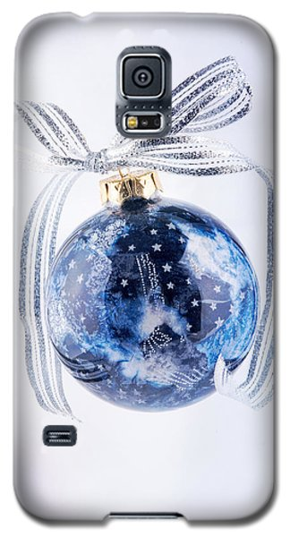 Christmas Ornament With Stars Galaxy S5 Case by Vizual Studio