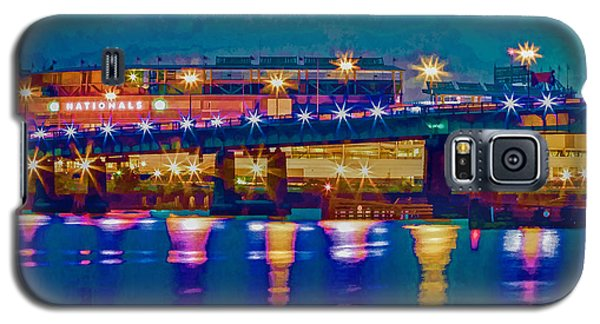 Starry Night At Nationals Park Galaxy S5 Case
