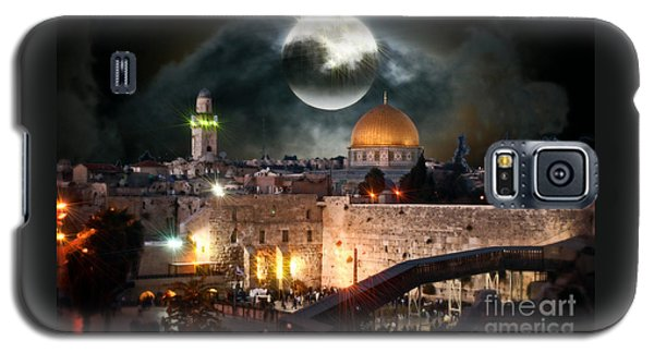 Full Moon Israel Galaxy S5 Case