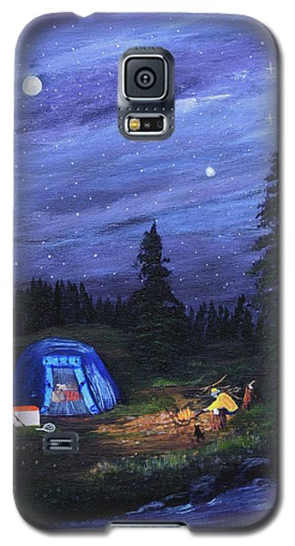 Starry Night Campers Delight Galaxy S5 Case