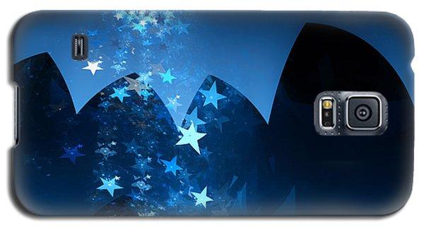 Galaxy S5 Case featuring the digital art Starry Night by GJ Blackman