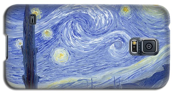 Starry Night In Istanbul Galaxy S5 Case