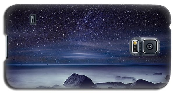Starry Night Galaxy S5 Case by Jorge Maia
