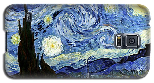 Starry Night Reproduction Art Work Galaxy S5 Case