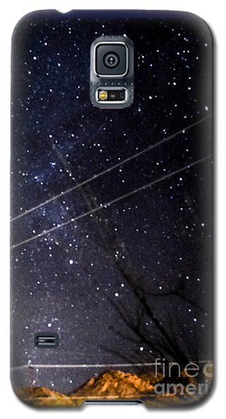Stars Drunk On Lightpaint Galaxy S5 Case